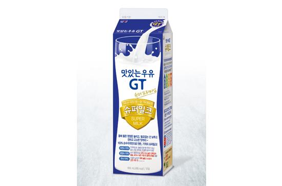 남양유업, '맛있는우유 GT 슈퍼밀크' 일일 판매량 50만 개 돌파