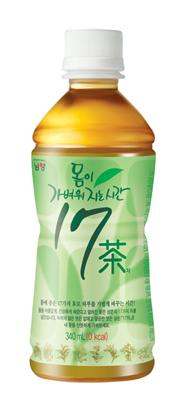 남양유업, '몸이 가벼워지는 시간 17차(茶)' 리뉴얼 출시